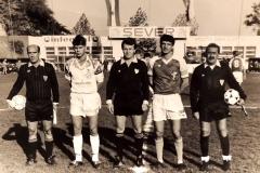 Spartak - Dinamo Zagreb 1990 91, kapiteni Zvonimir Boban i Zoran Arsić.