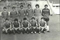 1979 80 Rafai, Ivošević, Mitić, Đurović, Perduv, Popović,Miranović, Dragojević, Slijepčević, Marić, Stakić.
