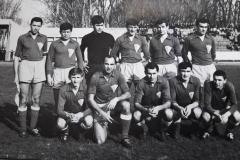 Spartak 1966 Bleskany, Agošton, Kovačević, Popović, Borbély, Vujković, Jurković, Jovanović, Kaljević, Vitković i Šimoković.