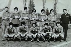 Spartak 1977 78 Đuran, Majer, Muci, Fabri, Vig, Ivošević, trener Vrana, Miranović, Stipić, Petrik, Margit, Rvović.