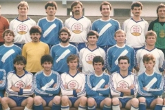 Spartak Subotica 1985 Peštalić, Bilbija, Đurović, Đuran, Ugljanin, Kovačević, Popović. Karač, Čava Dimitrijević, Štajner, Aćimović, Rafai, Ljiljak, Slijepčević Arsić, Jeftic, Todorović, Pejović, Kuntić, Miranović, Ćosić, Puha
