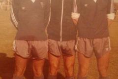 Ivan Ognjanov, Dušan Stakić i Vlado Kapetan, asovi Spartaka krajem 70-tih.