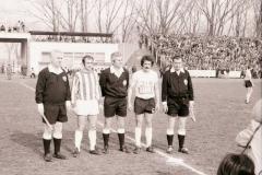 Spartak - Zvezda 1972 73, kapiteni Miroslav Pavlović i Vinko Ilovac