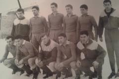 Spartak 1963 Borbely, Bleskanj, Juhas, Fodor, Agošton, Martinović, Hiršman, Takač, Milodanović, Simoković i Savković.