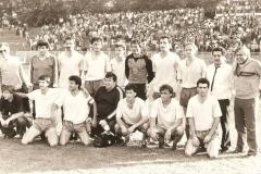 Spartak 1985 Kustudić, Đuran, , Ćosić, Popović, Ugljanin, Ljljiak, sekretar , Zemko Dimitrijević, Arsić, Slijepčević, Karač,Sabo, Miranović
