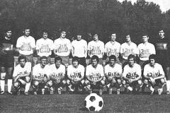 Tim Spartaka koji je 1972. godine - posle kvalifikacija izborio ponovni povratak među članove I savezne lige.