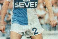 Zoran Dimitrijević Čava u dresu subotičkog Spartaka